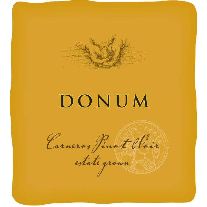 The Donum Estate Carneros Estate Grown Pinot Noir 2014  Front Label