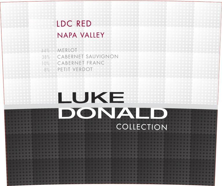 Luke Donald Collection LDC Red 2012  Front Label