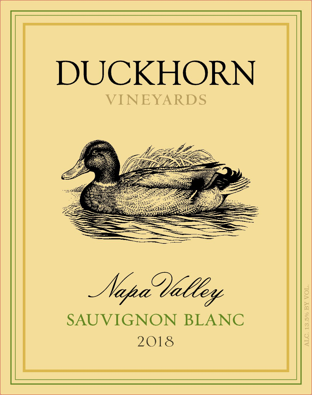 Duckhorn Sauvignon Blanc (375ml half-bottle) 2018 Front Label
