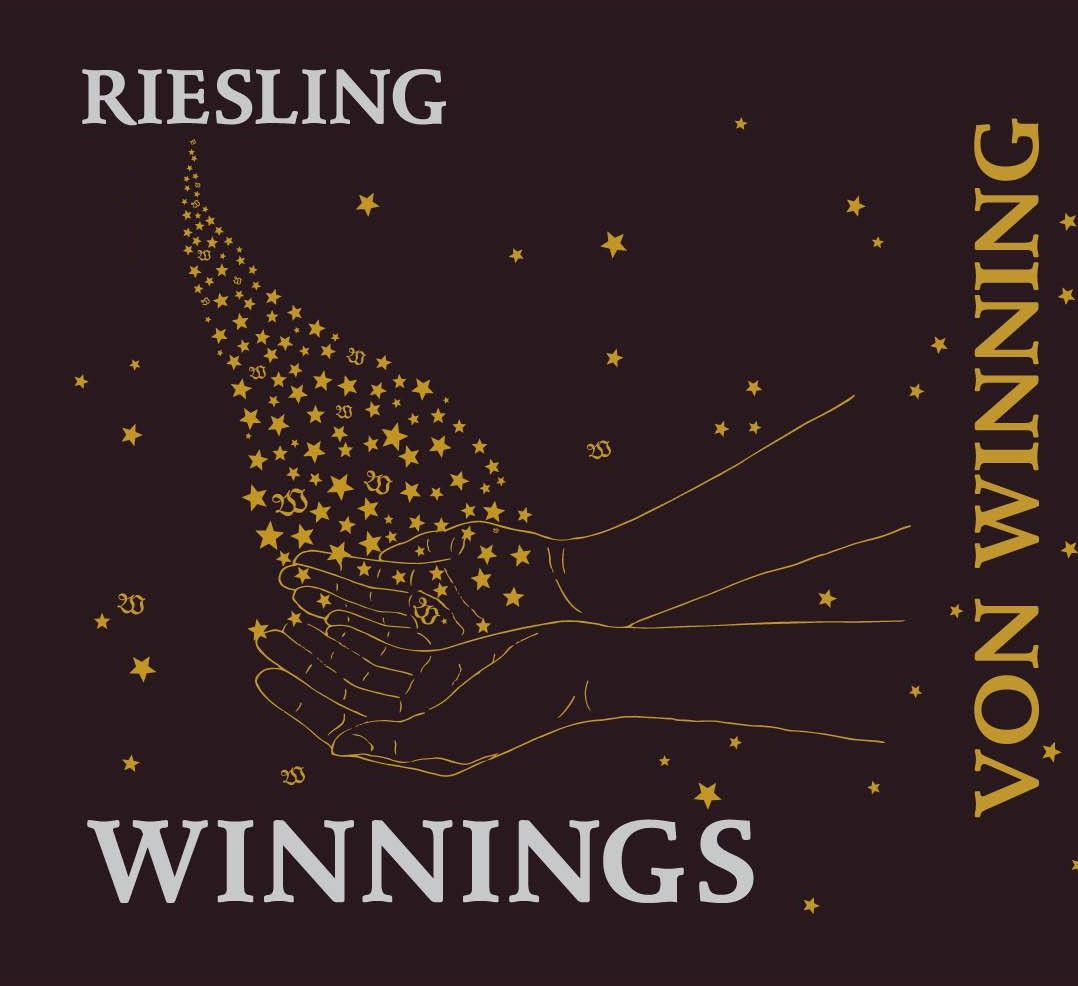 Von Winning Winnings Riesling 2017 Front Label