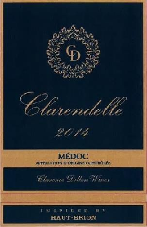 Clarendelle Inspired by Haut-Brion (375ML half-bottle) 2014  Front Label