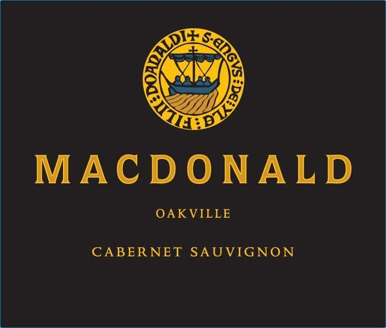 MacDonald Vineyards Oakville Cabernet Sauvignon 2014 Front Label