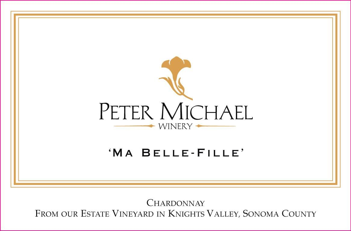 Peter Michael Ma Belle Fille Chardonnay 2016 Front Label
