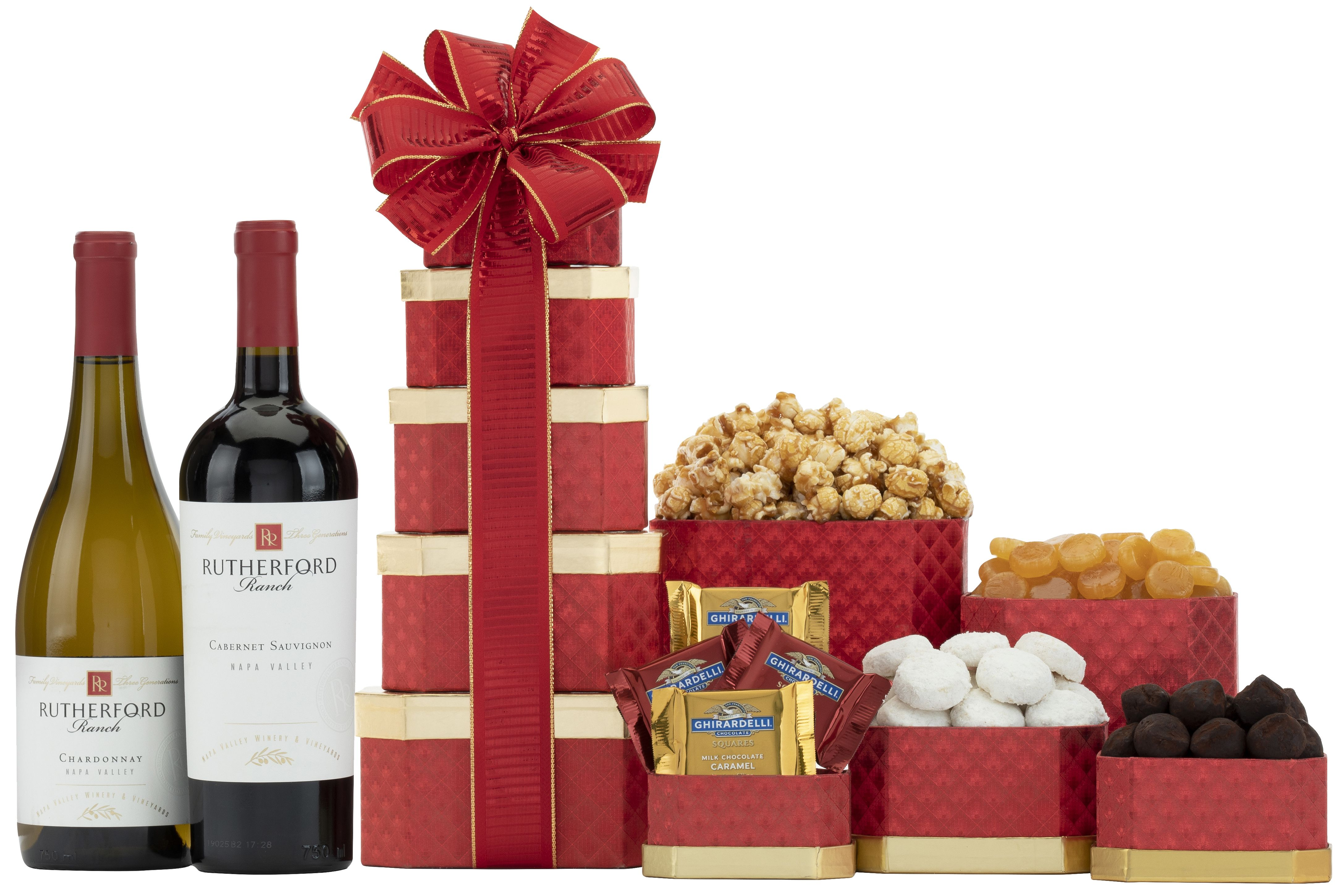 wine.com Napa Valley Wine Gift Tower  Gift Product Image