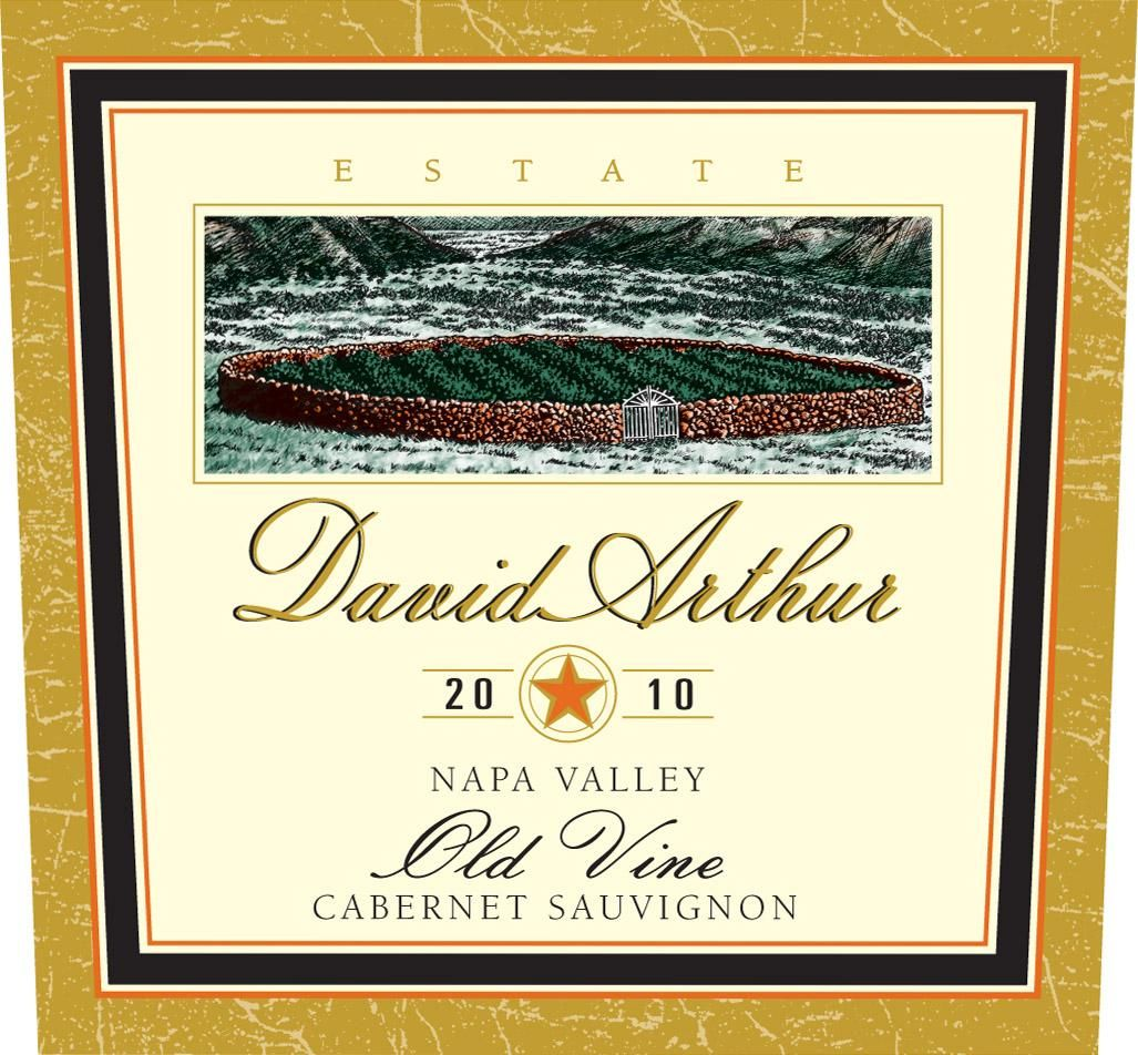 David Arthur Old Vine Cabernet Sauvignon (3 Liter Bottle) 2010 Front Label