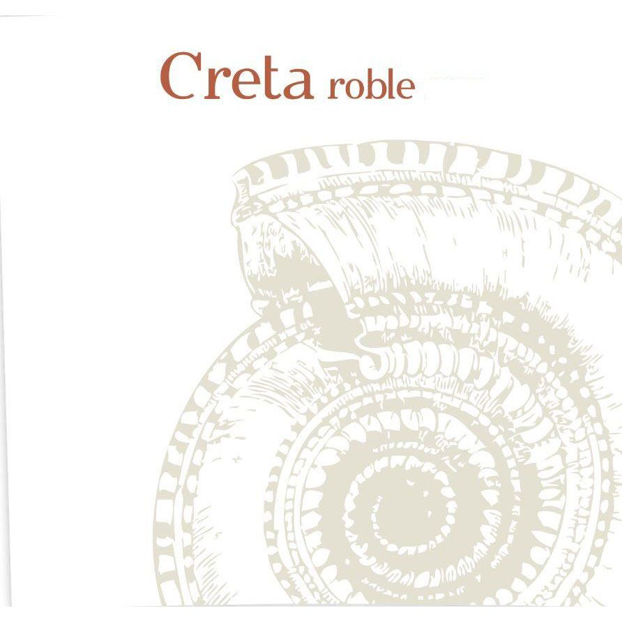 Creta Roble 2018  Front Label