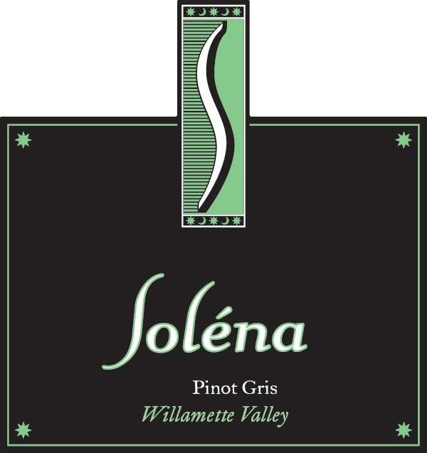 Solena Estate Pinot Gris 2018  Front Label