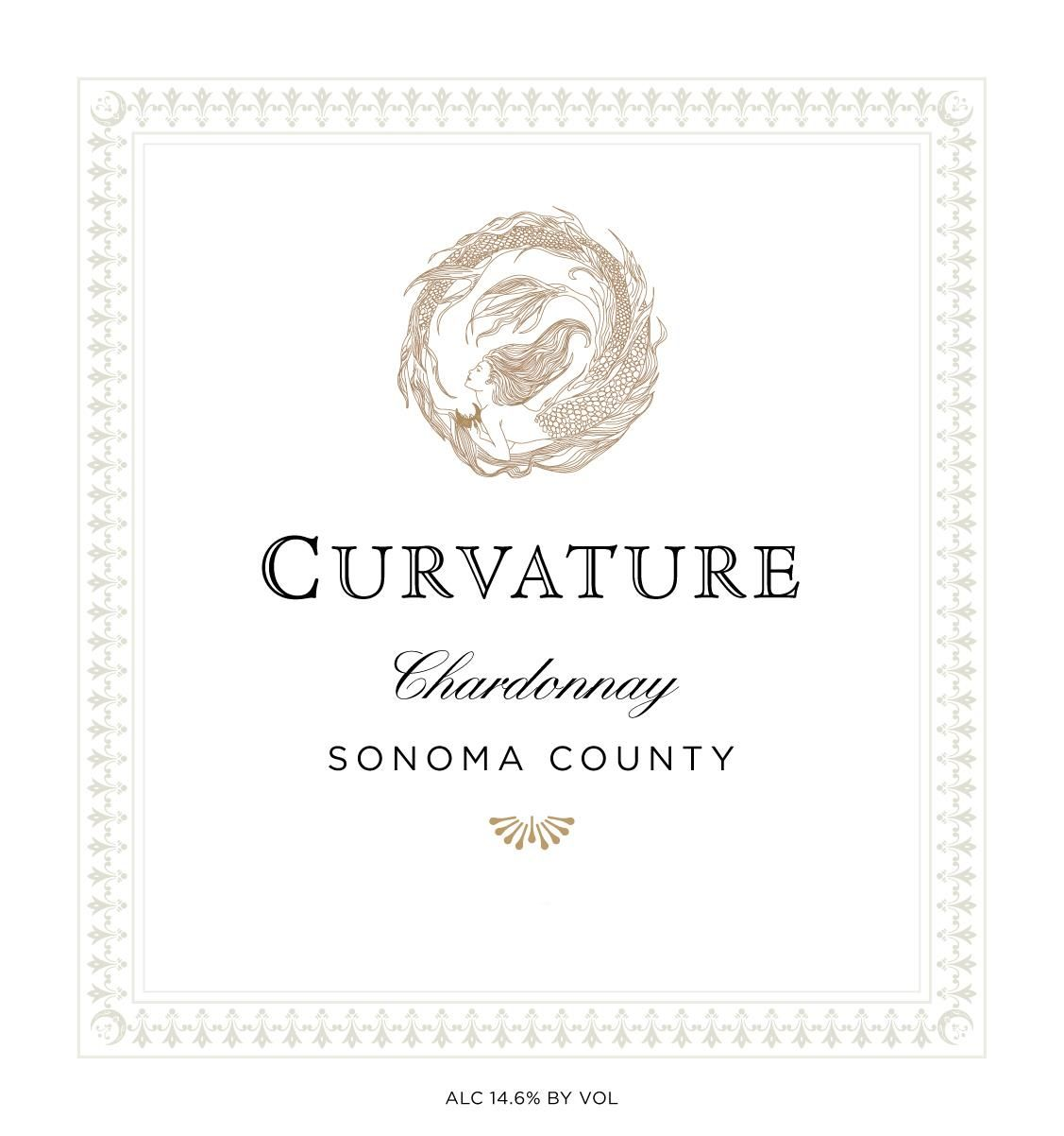 Kerr Cellars Curvature Chardonnay 2016 Front Label