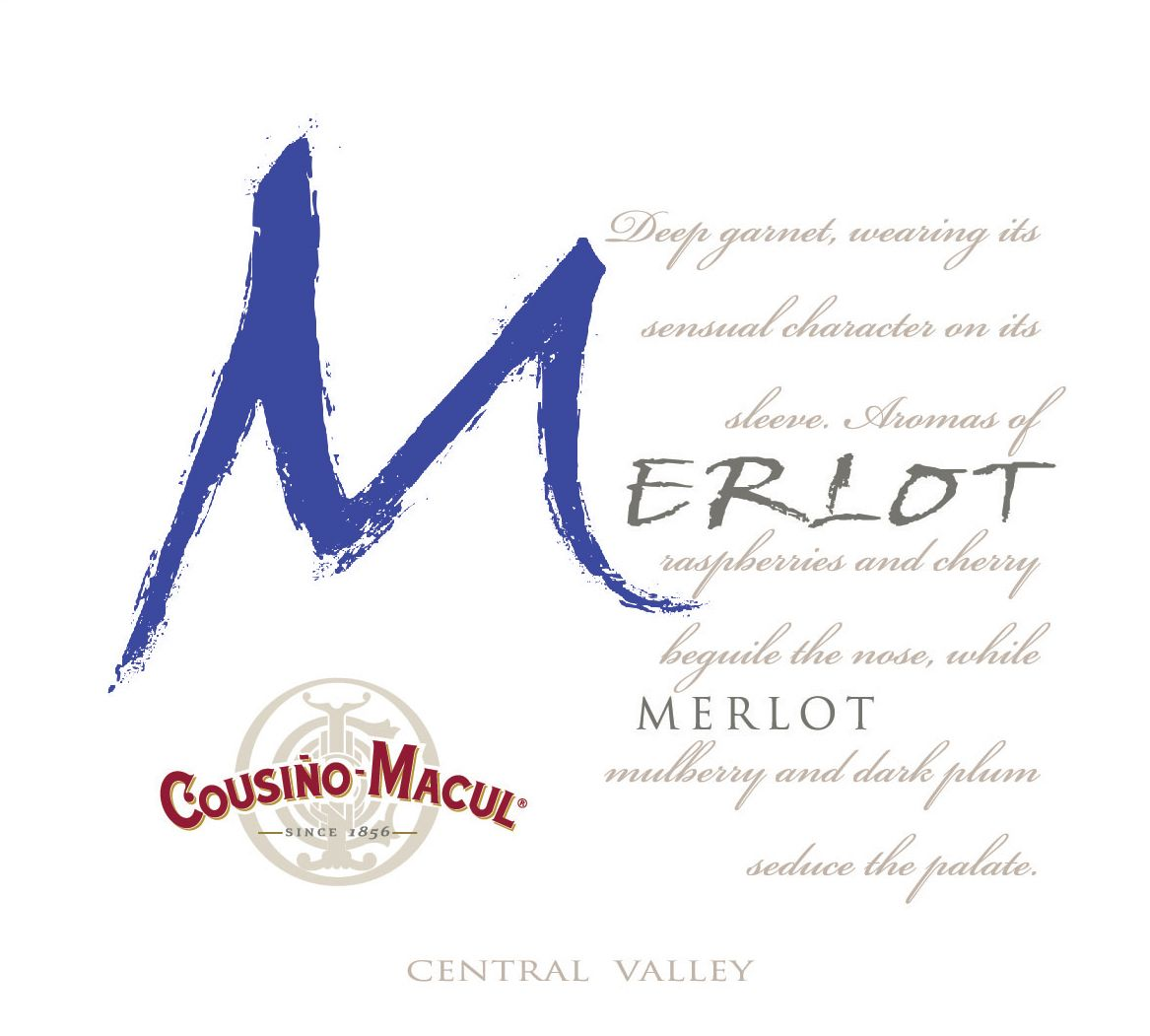 Cousino Macul Merlot 2017  Front Label