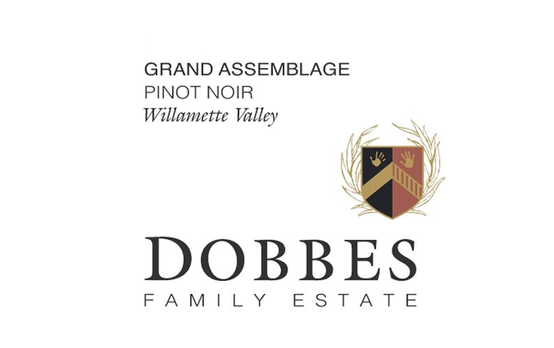 Dobbes Family Estate Grand Assemblage Pinot Noir 2017  Front Label