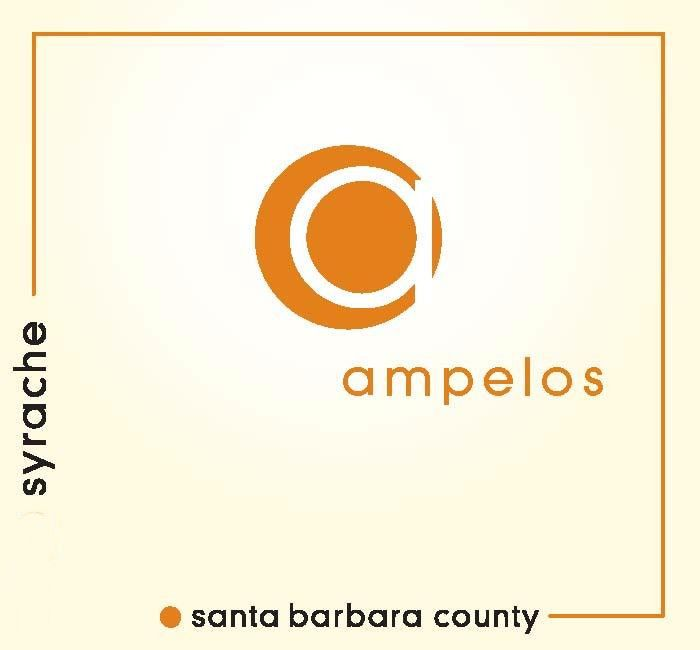 Ampelos Cellars Syrache 2010  Front Label