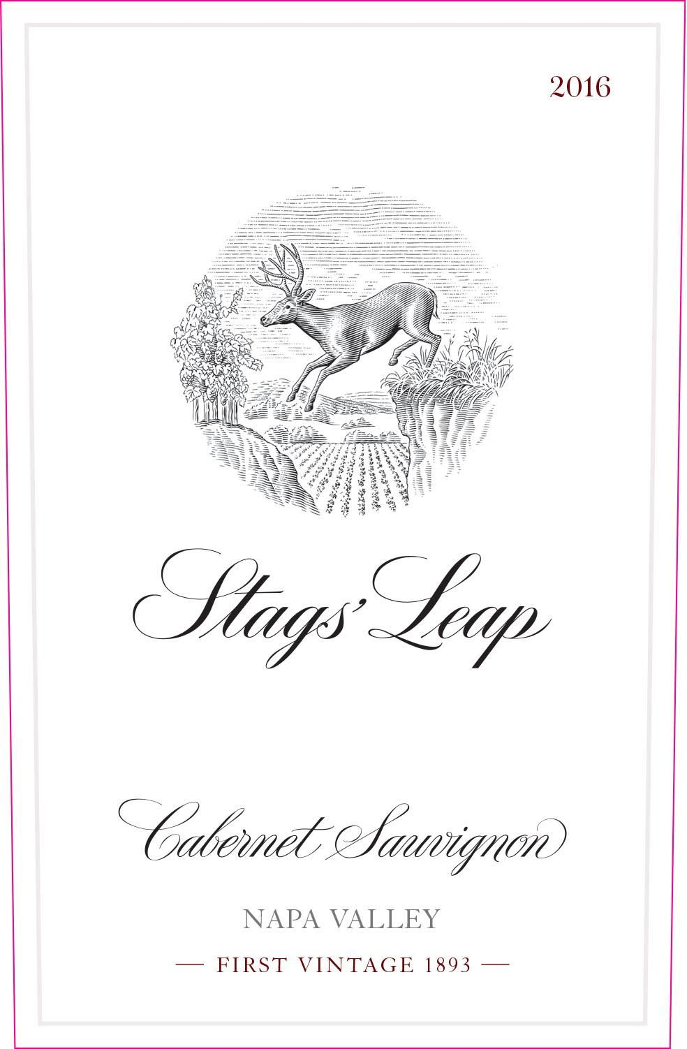 Stags' Leap Winery Cabernet Sauvignon 2016 Front Label