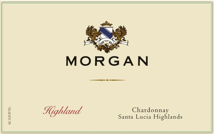 Morgan Highland Chardonnay 2016 Front Label