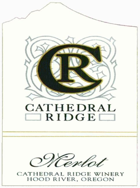 Cathedral Ridge Winery Merlot 2011  Front Label