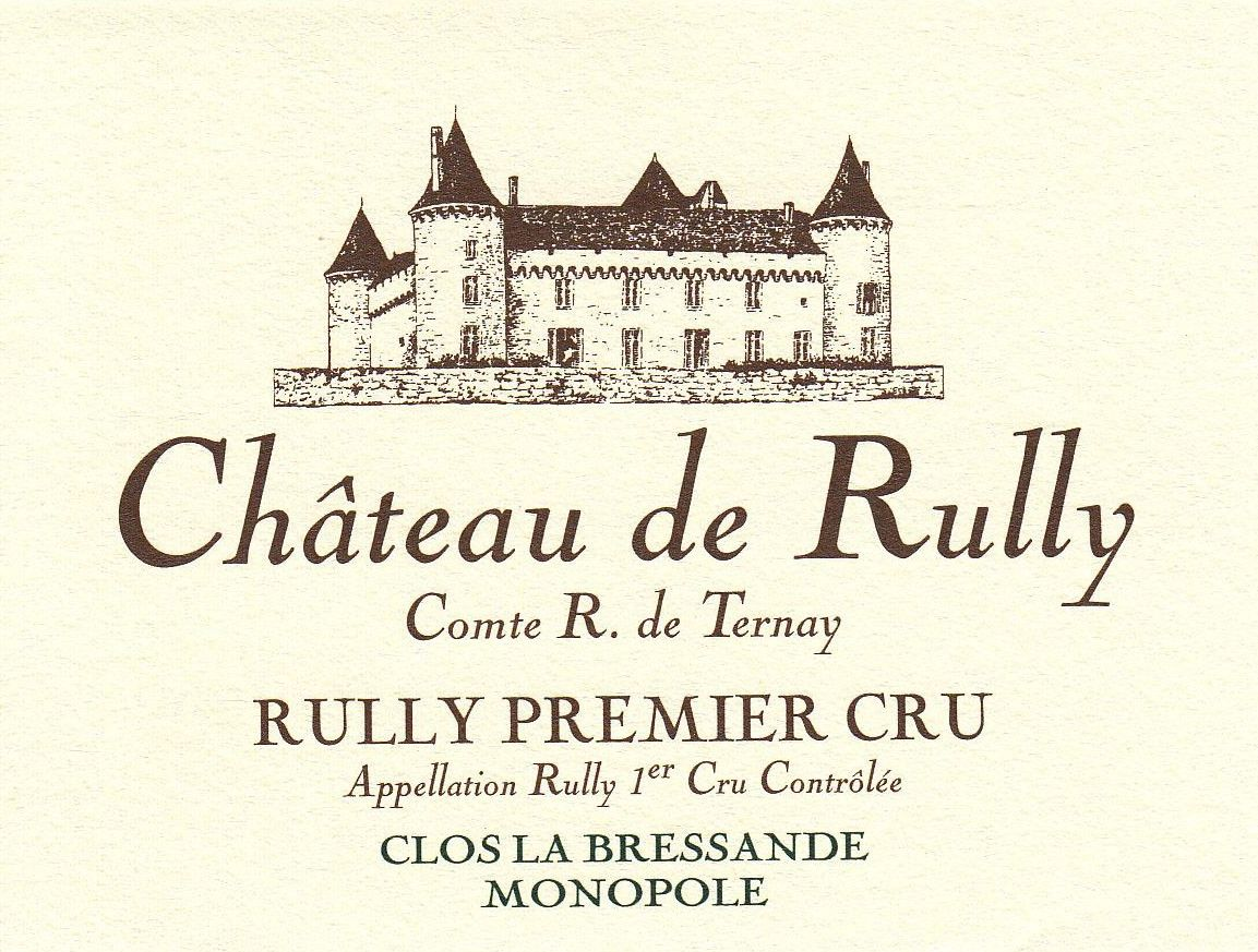 Antonin Rodet Chateau de Rully Blanc 2016  Front Label