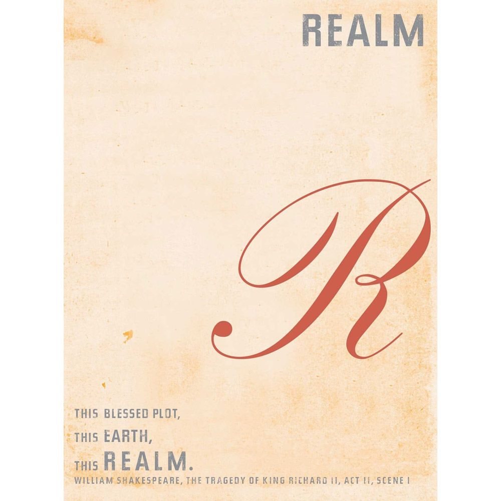 Realm The Bard 2008  Front Label