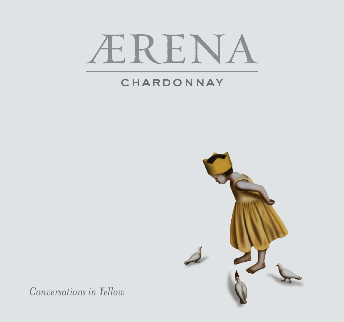 AERENA by Blackbird Vineyards Chardonnay 2018  Front Label