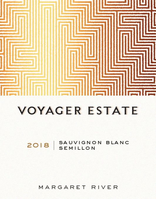 Voyager Estate Sauvignon Blanc-Semillon 2018  Front Label