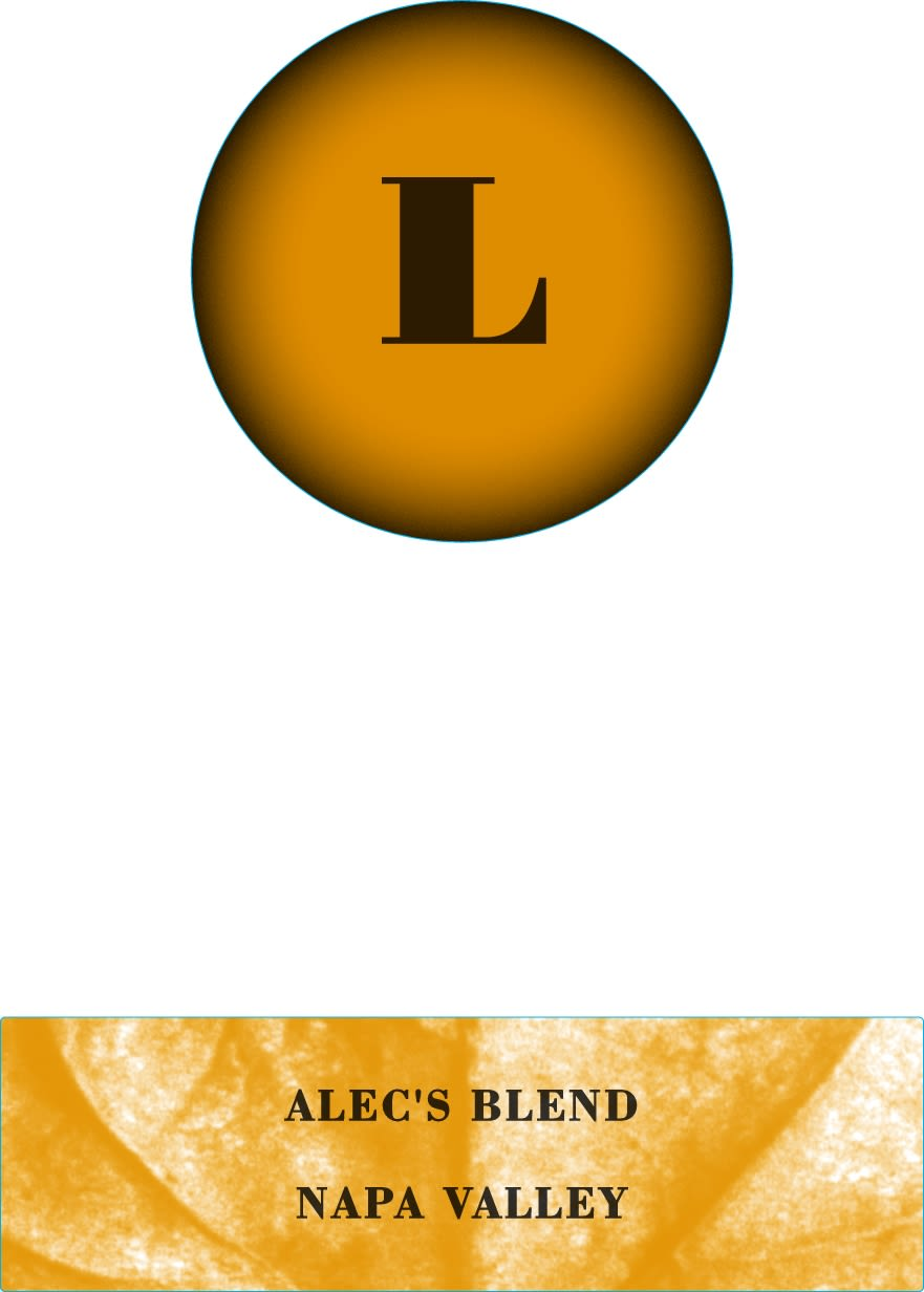 Lewis Cellars Alec's Blend Red 2017  Front Label