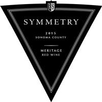 Rodney Strong Symmetry Meritage 2015 Front Label