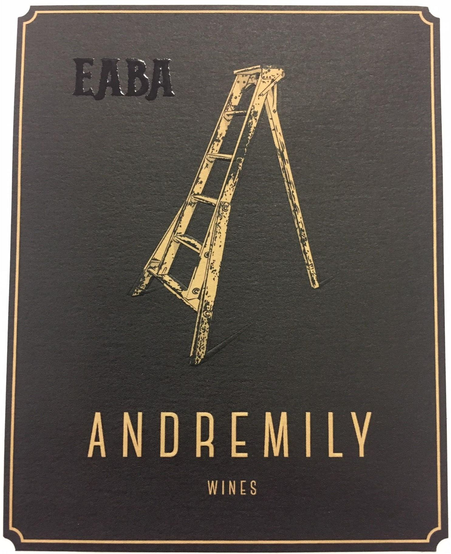 Andremily Eaba 2017  Front Label