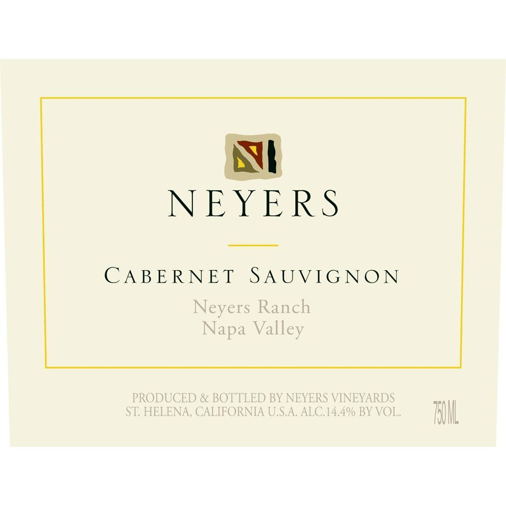 Neyers Neyers Ranch-Conn Valley Cabernet Sauvignon 2016  Front Label