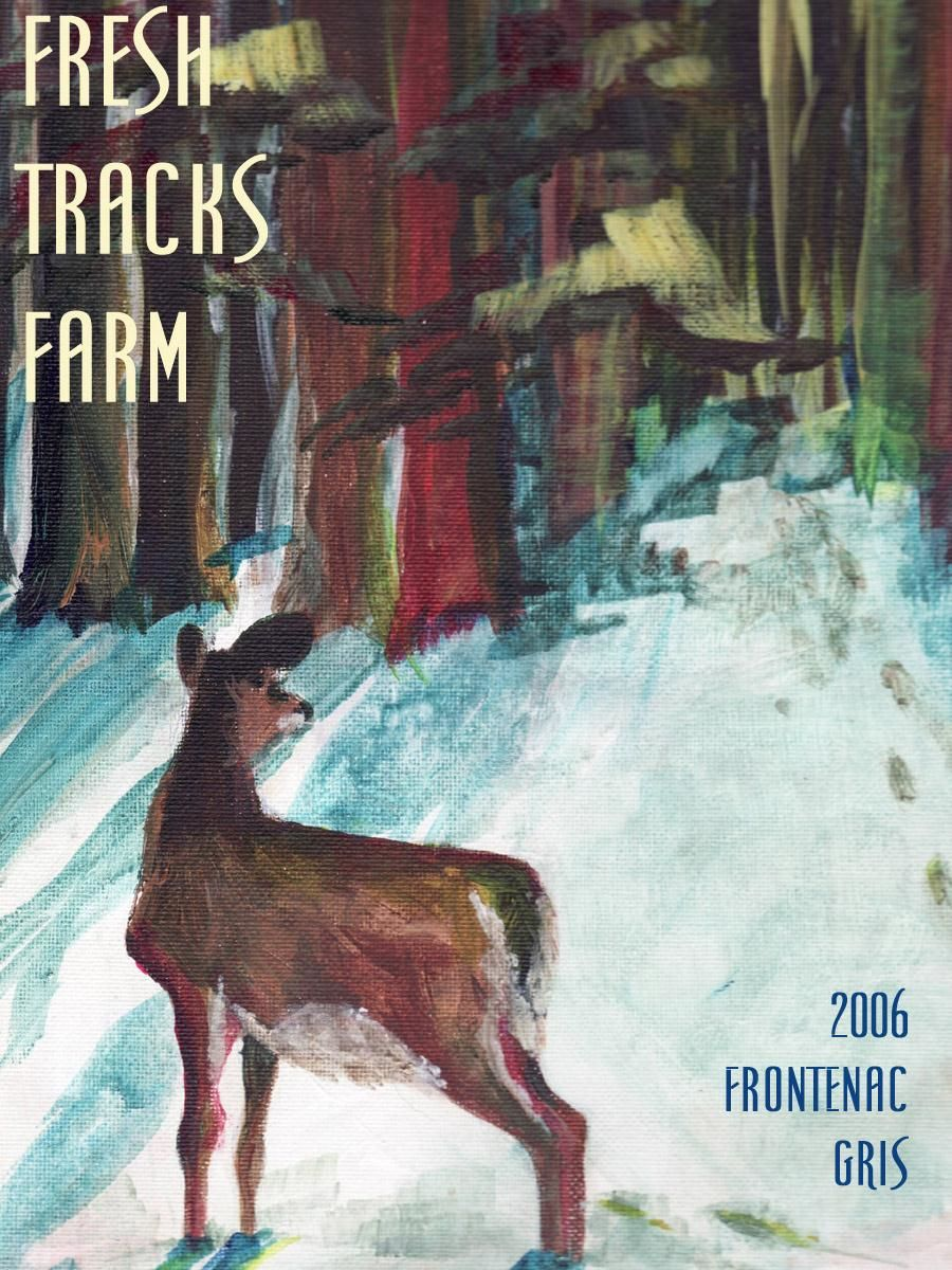 Fresh Tracks Farm Frontenac Gris 2006 Front Label