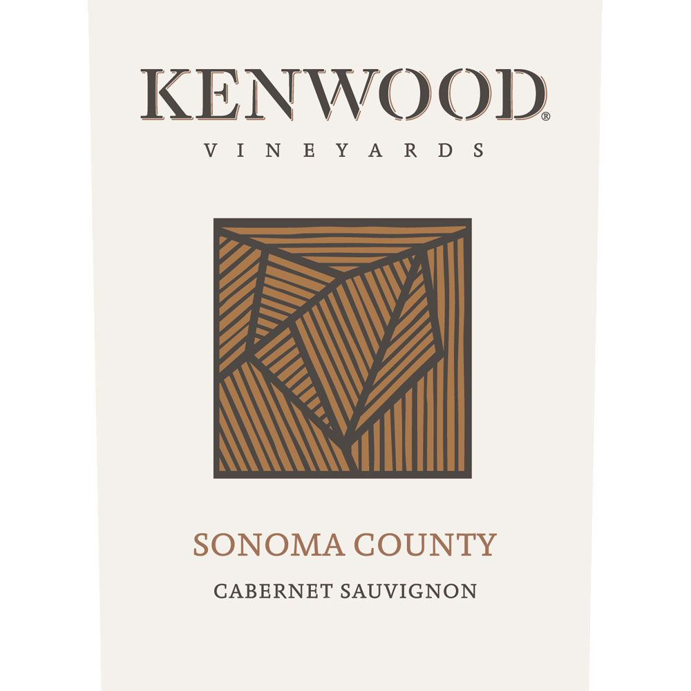 Kenwood Sonoma County Cabernet Sauvignon 2016  Front Label
