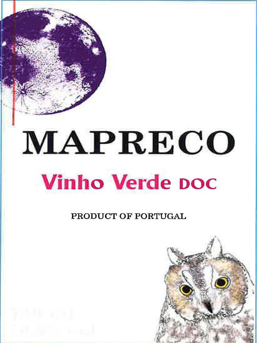 Mapreco Vinho Verde Rose 2019  Front Label