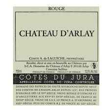 Chateau d'Arlay Cotes du Jura Tradition Rouge 2011  Front Label