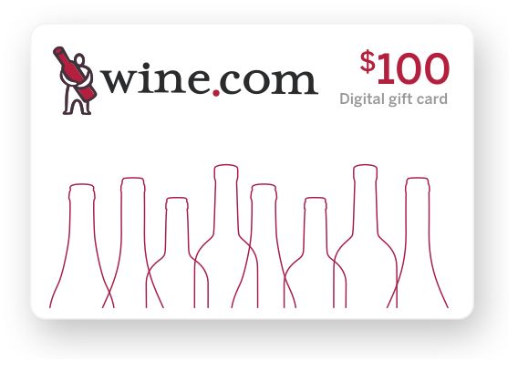 wine.com Gift Card - $100  Gift Product Image