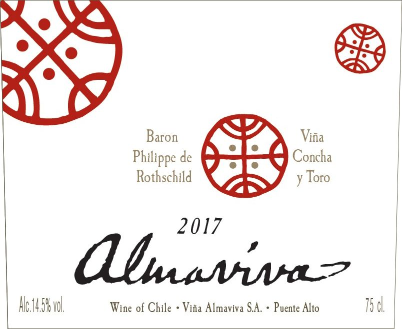 Almaviva Red 2017  Front Label