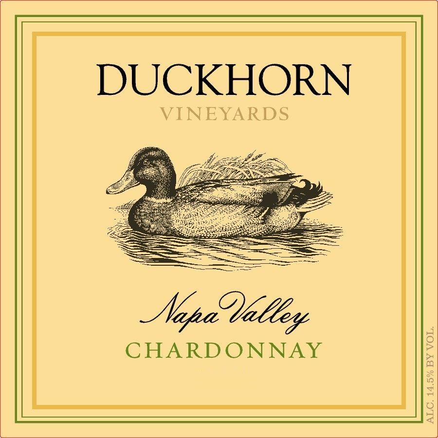 Duckhorn Napa Valley Chardonnay 2017 Front Label