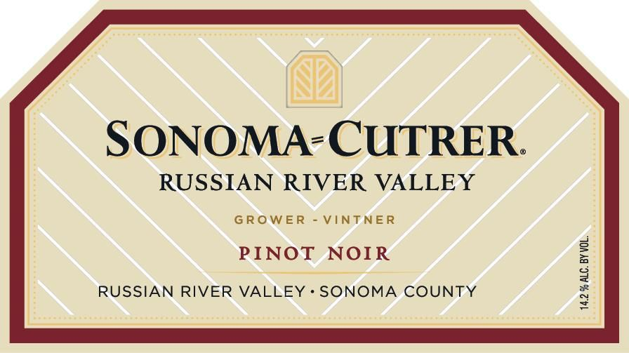 Sonoma-Cutrer Russian River Valley Pinot Noir (375ML half-bottle) 2017  Front Label