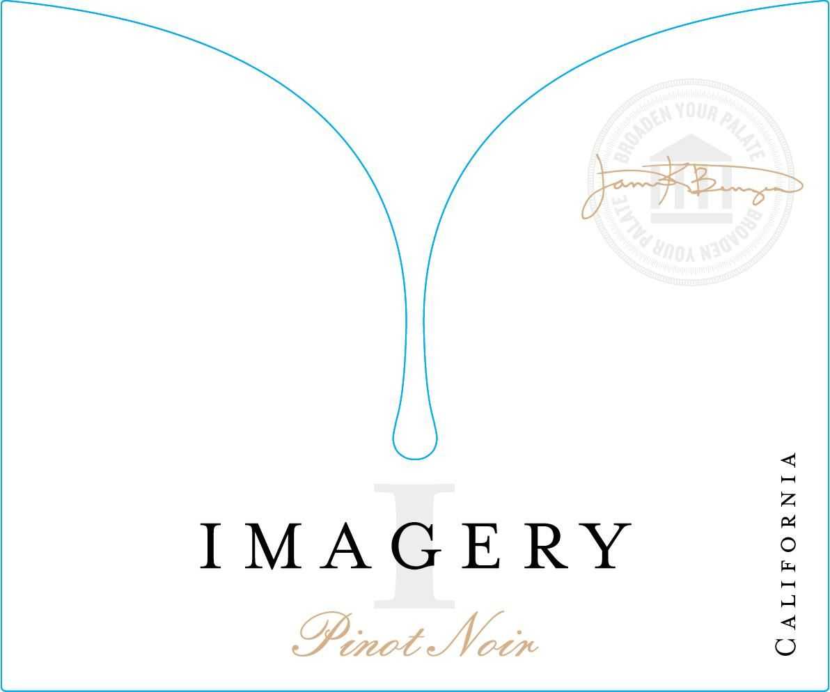 Imagery Estate Winery Pinot Noir 2018  Front Label