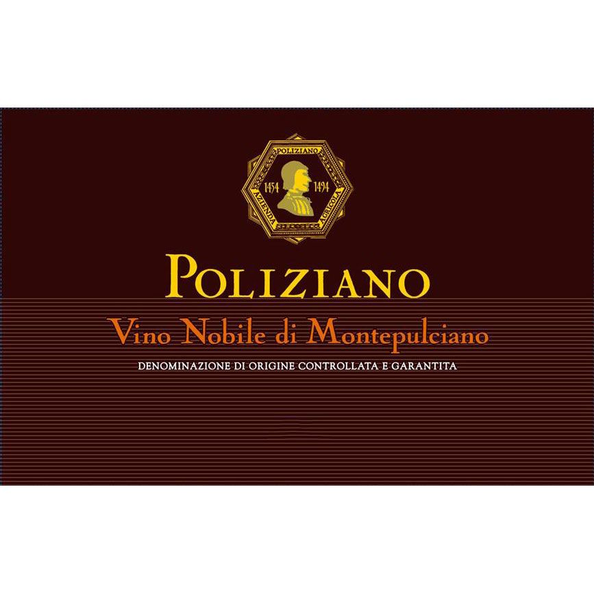 Poliziano Vino Nobile di Montepulciano (375ML half-bottle) 2017  Front Label