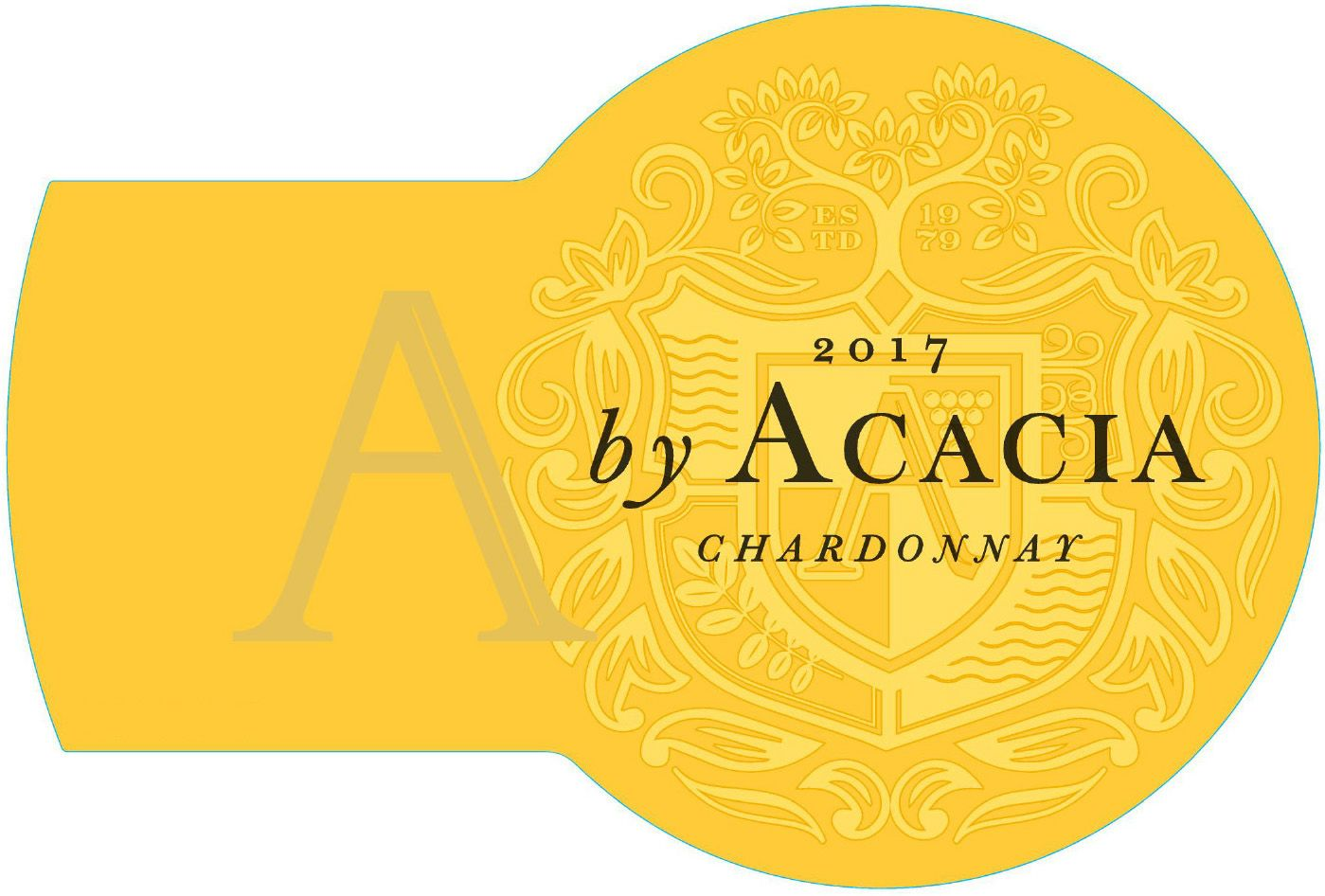 A by Acacia California Chardonnay 2017 Front Label