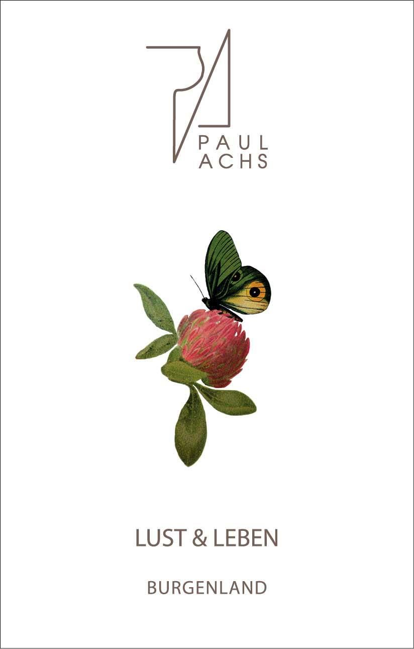 Paul Achs Lust and Leben 2018  Front Label