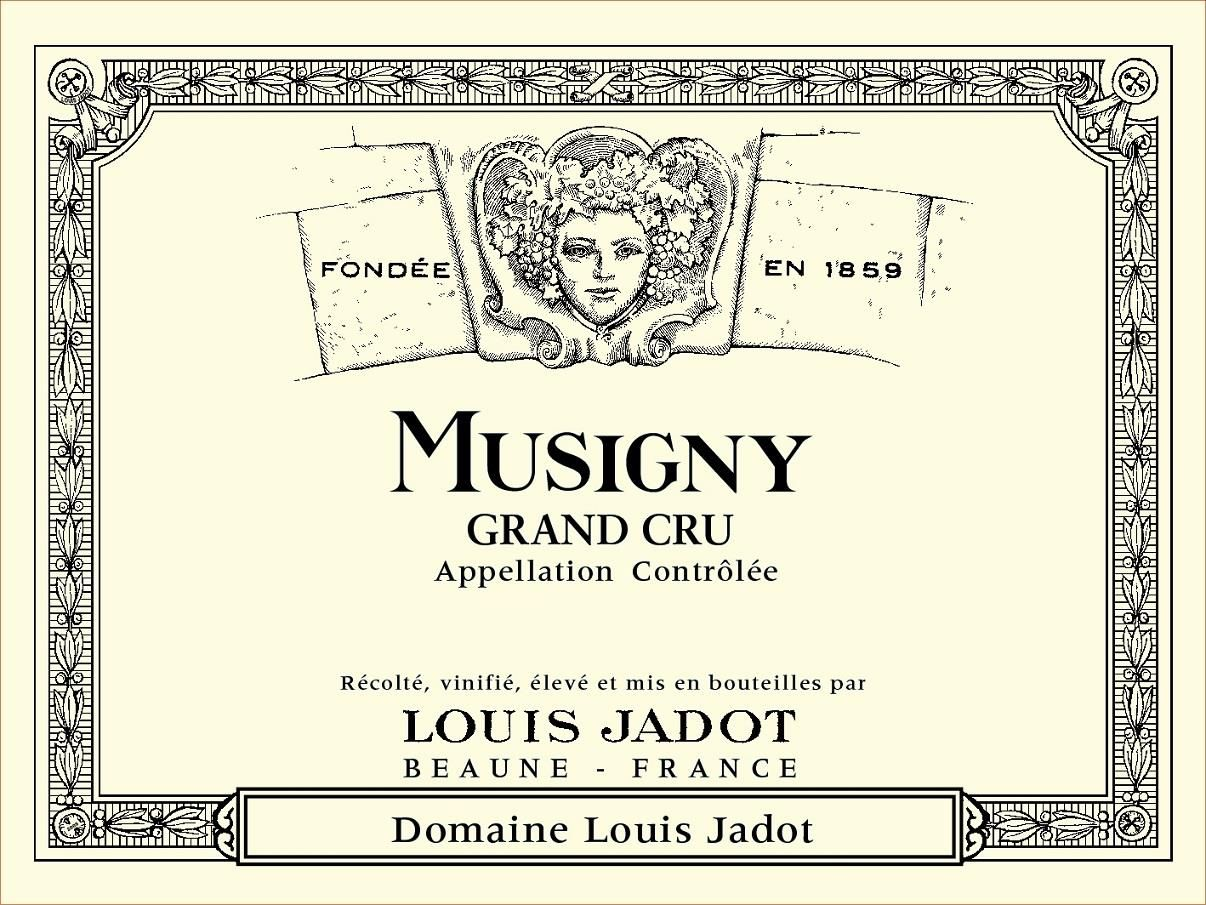Louis Jadot Le Musigny 2011 Front Label