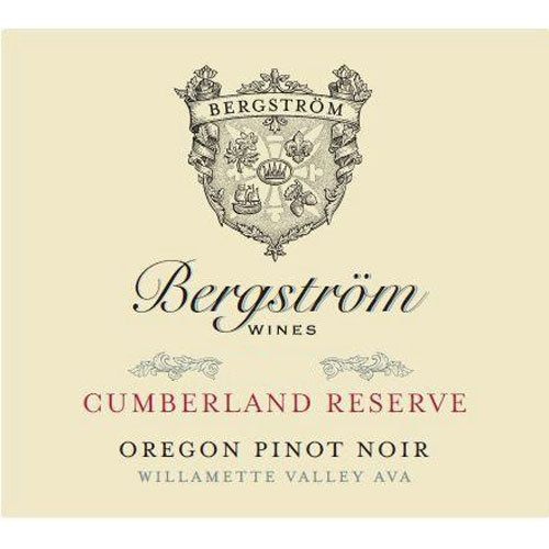 Bergstrom Cumberland Reserve Pinot Noir 2017  Front Label