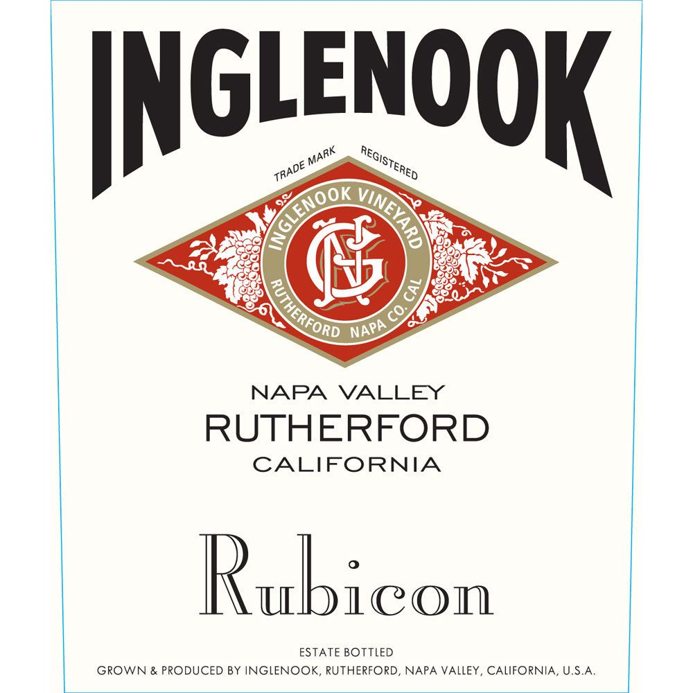 Inglenook Rubicon 2015  Front Label