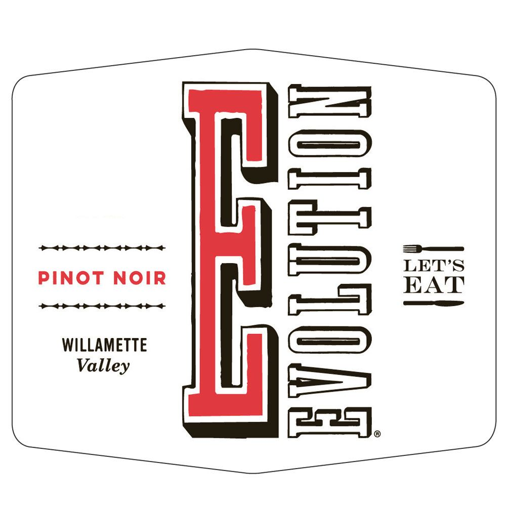 Sokol Blosser Evolution Pinot Noir 2018  Front Label