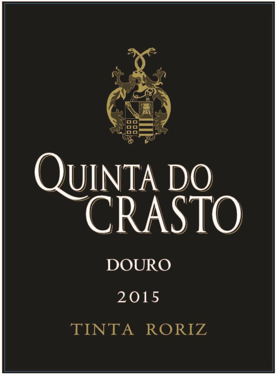 Quinta do Crasto Tinta Roriz 2015  Front Label