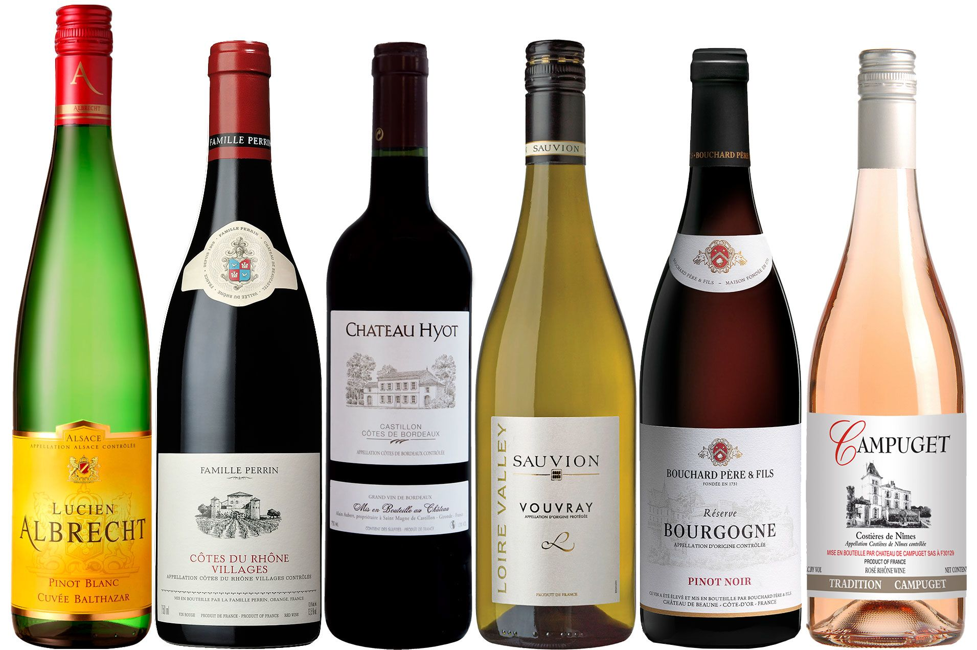 wine.com Grand Tour de France Wine Gift Set  Gift Product Image