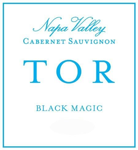 TOR Black Magic Cabernet Sauvignon 2016  Front Label