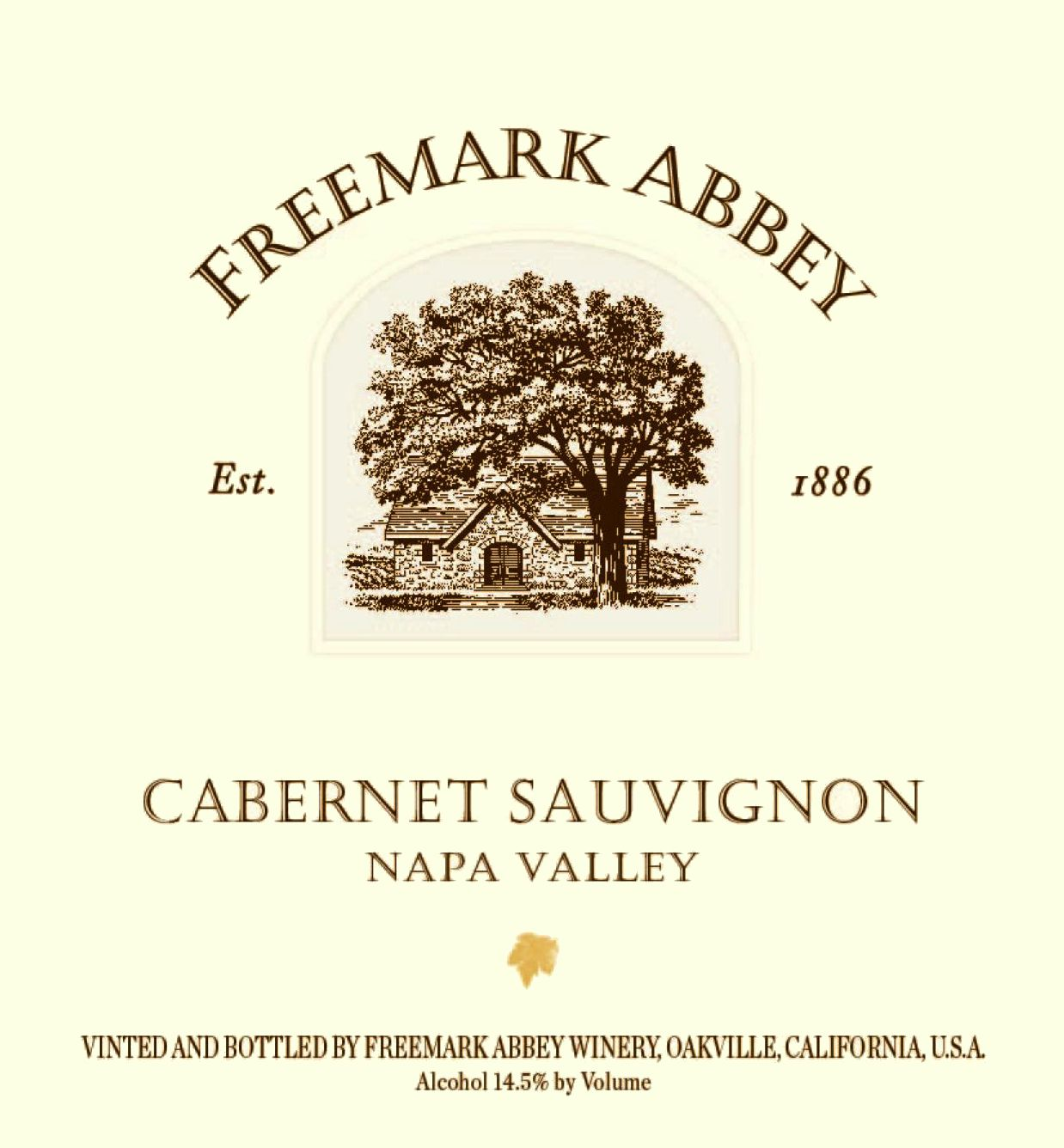 Freemark Abbey Napa Valley Cabernet Sauvignon 2016  Front Label