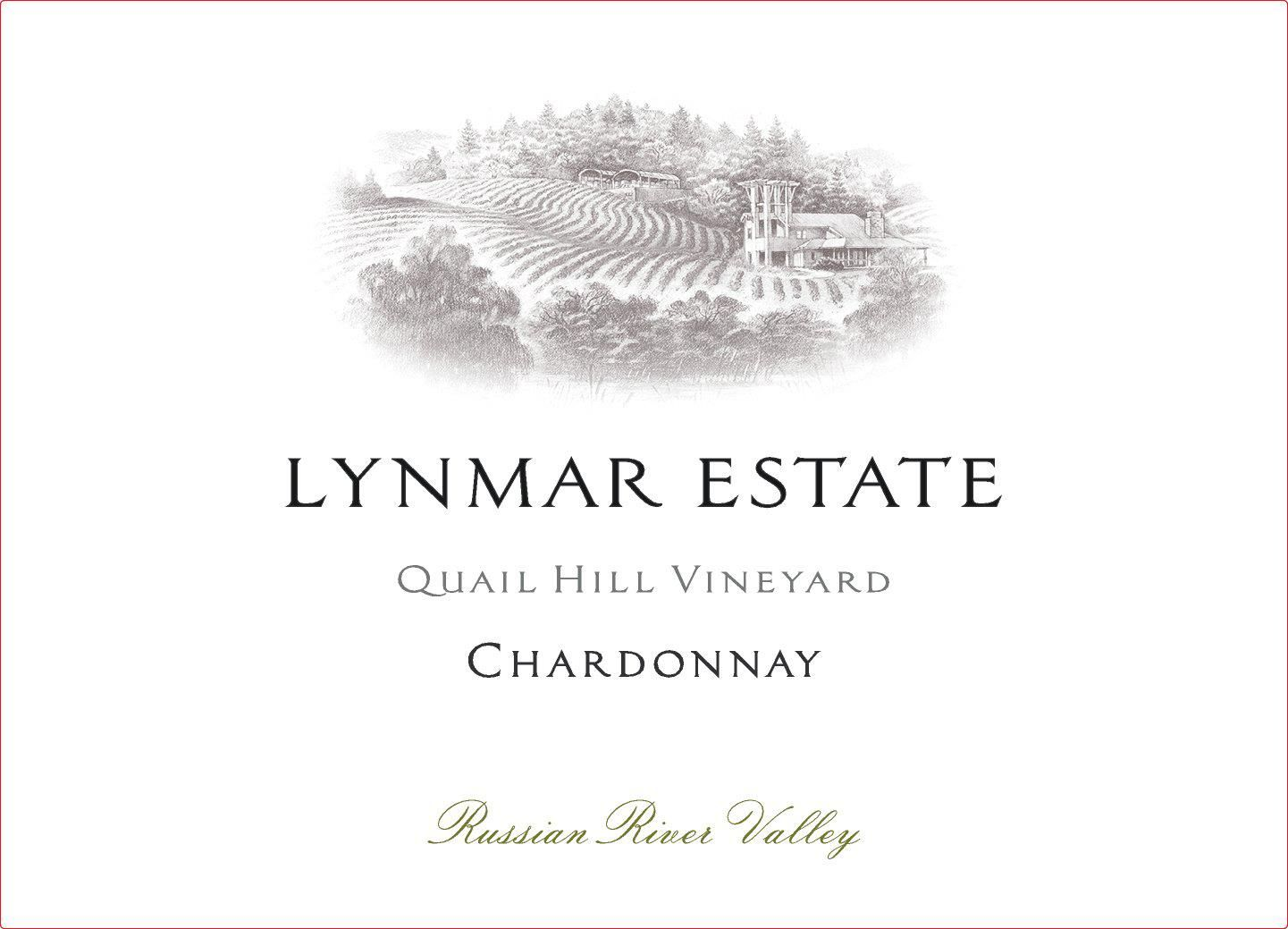 Lynmar Winery Quail Hill Chardonnay 2017  Front Label