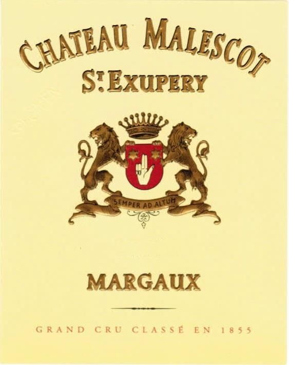 Chateau Malescot St. Exupery (6-Pack OWC Futures Pre-Sale) 2018  Front Label