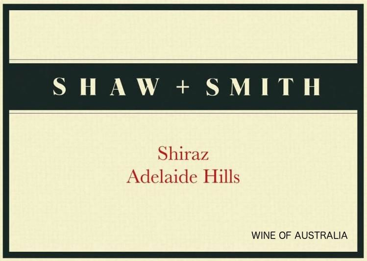 Shaw & Smith Shiraz 2016  Front Label