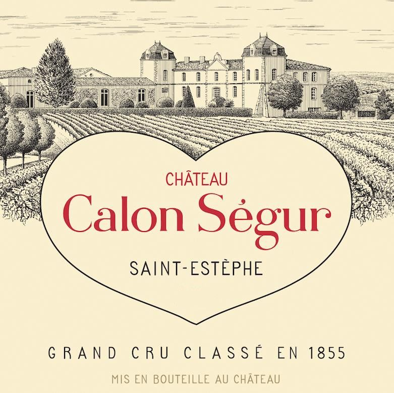 Chateau Calon-Segur (Futures Pre-Sale) 2019  Front Label